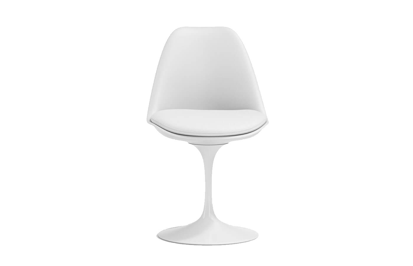 Tulip chair di Eero Saarinen della collezione Pedestal